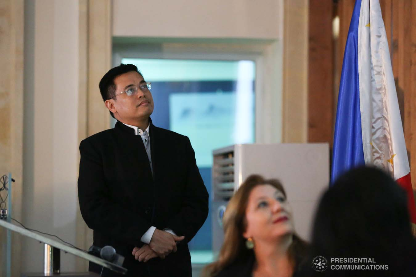 Presidential Assistant on Foreign Affairs and Chief of Presidential Protocol Robert Borje interacted with the Filipino community living in the Republic of Tunisia.   Undersecretary Borje conveyed the message of President Rodrigo Roa Duterte during the town hall type meeting held at the Philippine Legation Office, Immueble AEG, Les Berges du Lac in Tunis on December 19, 2019.   President Rodrigo Roa Duterte designated Undersecretary Borje as Special Envoy to special missions aimed at checking the conditions of overseas Filipino workers in North Africa and the Middle East.   Tunisia is the first of three countries to be visited. The missions will also include the Kingdom of Saudi Arabia and the Kingdom of Bahrain. PRESIDENTIAL PHOTO