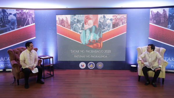 Presidential Communications Operations Office (PCOO) Secretary Martin Andanar and Cabinet Secretary Karlo Nograles led the opening of the 2nd leg of the Pre-SONA forum on Wednesday, July 15, 2020.